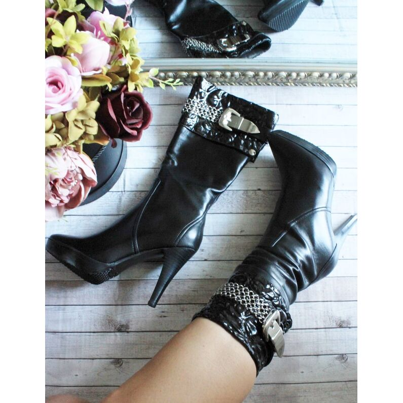 Odiniai sezoniniai ilgi batai