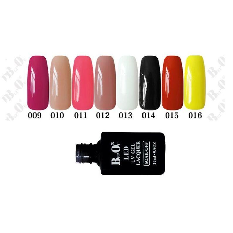UV gelinis lakas  Bei.Ou. 015 -  20 ml