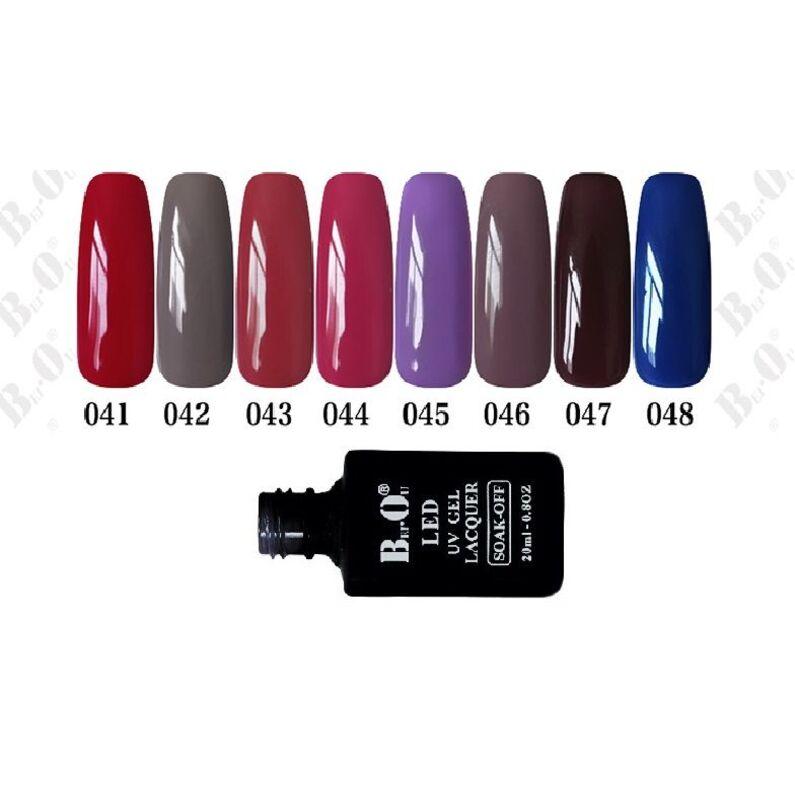 UV gelinis lakas  Bei.Ou. 041 -  20 ml