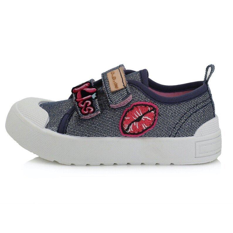 Mėlyni canvas batai 20-25 d. CSG141
