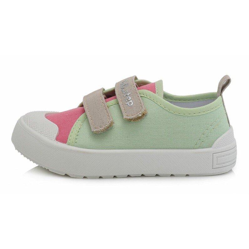 Žali canvas batai 26-31 d. CSG158M